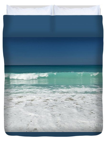 Sea Foam Production Duvet Cover