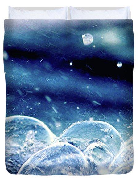 Sea Foamed Duvet Cover