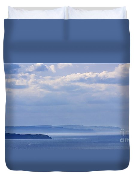 Sea Fret Duvet Cover by David  Hollingworth