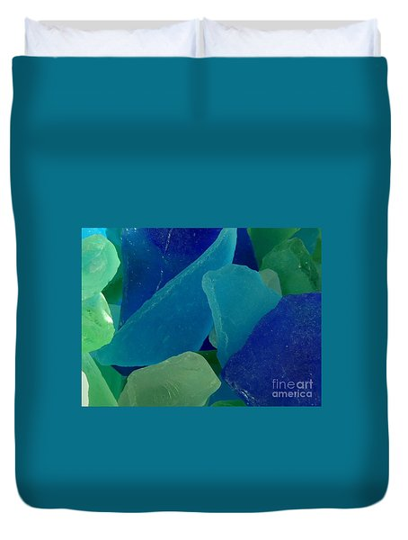 Sea Glass Duvet Cover by Chad and Stacey Hall