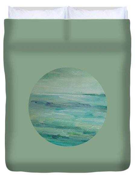 Sea Glass Duvet Cover