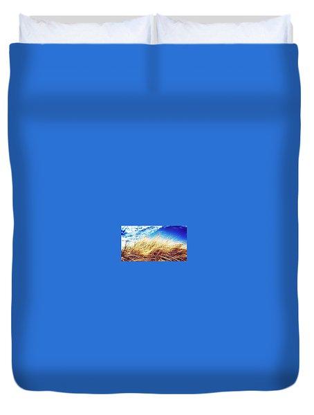Sea Grass Duvet Cover by Zoe Calvert
