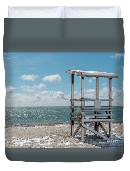 Sea Gull Beach #2 Duvet Cover