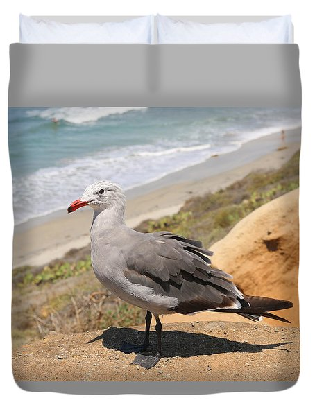 Heermann's Gull  Duvet Cover
