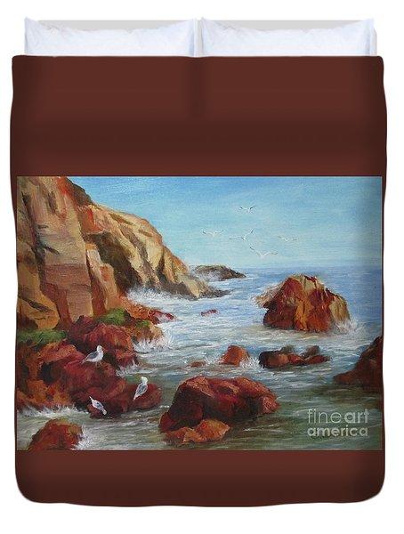 Sea Gulls Duvet Cover
