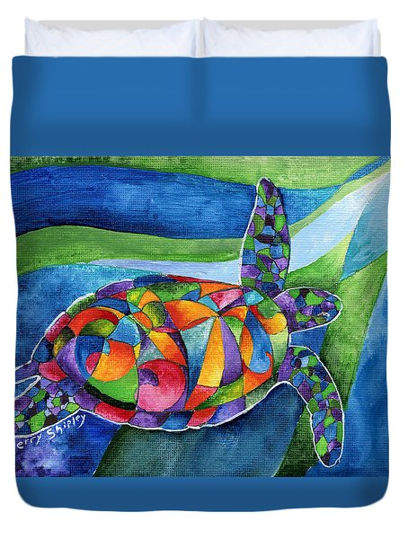 Sea Gypsy Duvet Cover