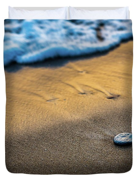 Sea Layers Of Colors Duvet Cover
