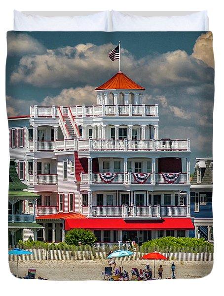Sea Mist Hotel Duvet Cover