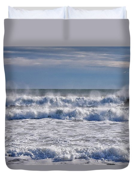 Sea Mist Duvet Cover by Tricia Marchlik