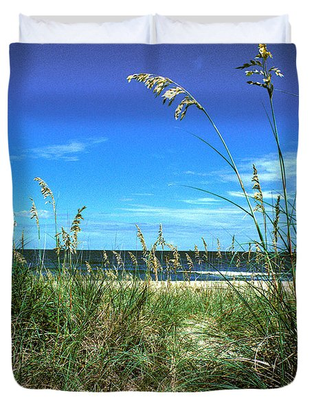 Sea Oat Dunes 11d Duvet Cover