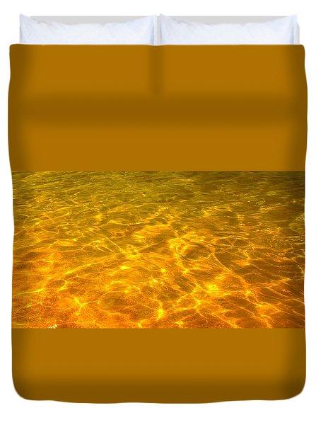 Sea Of Gold Duvet Cover