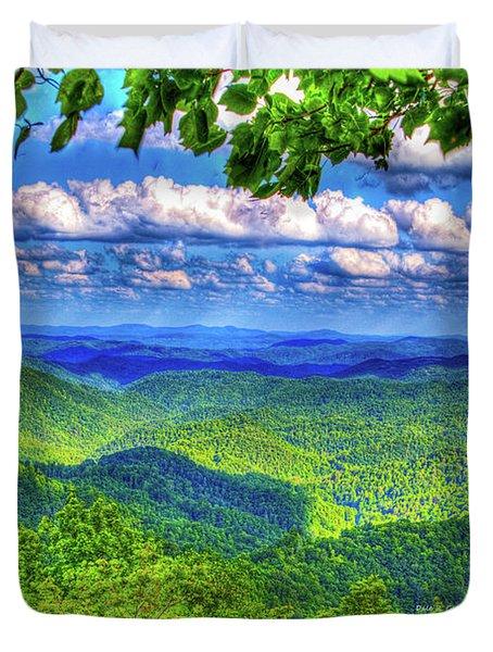 Sea Of Green Duvet Cover