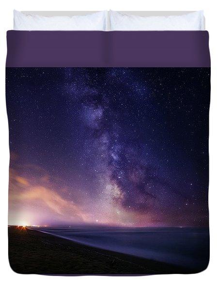 Sea Of Stars Duvet Cover