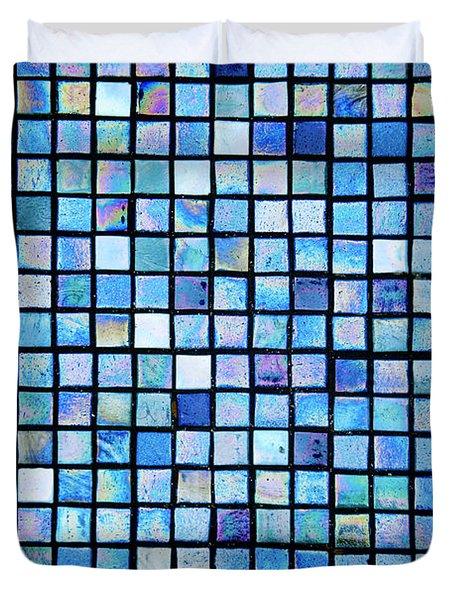 Sea Of Tiles Duvet Cover by Brandon Tabiolo - Printscapes