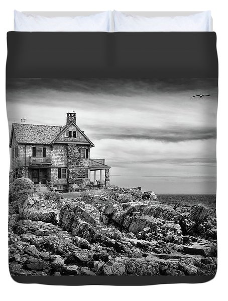 Sea Overlook Duvet Cover by Denis Lemay