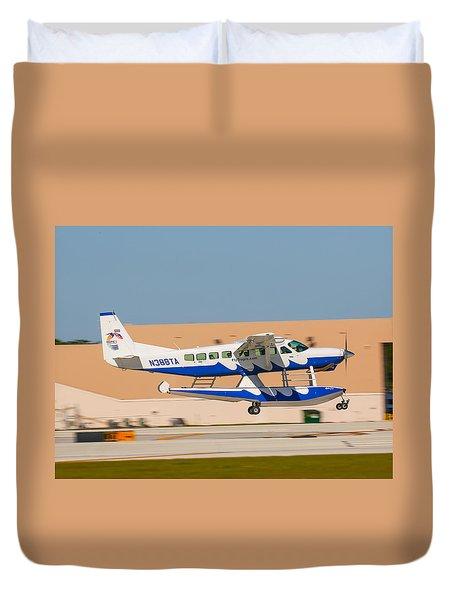 Sea Plane Duvet Cover