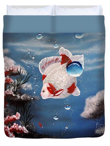 Sea Princess Duvet Cover by Dianna Lewis