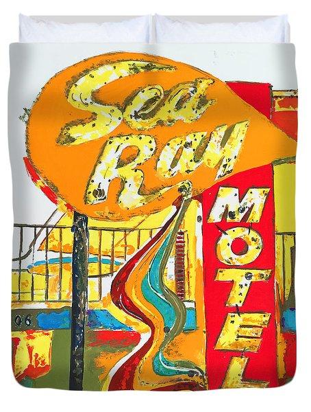 Sea Ray Motel Duvet Cover