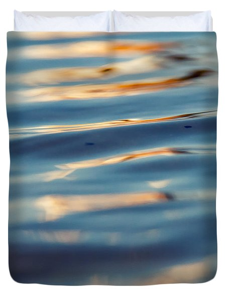 Sea Reflection 3 Duvet Cover by Stelios Kleanthous