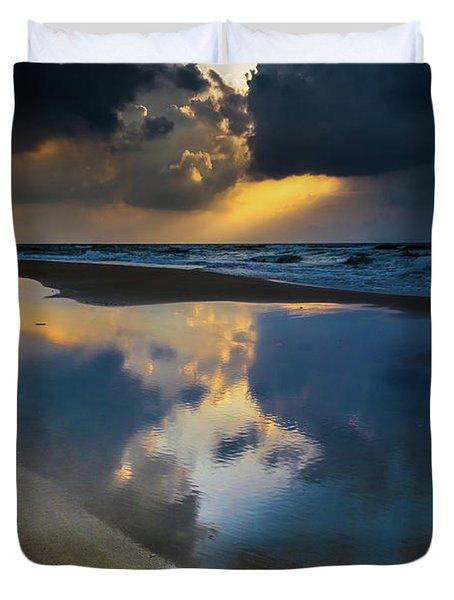 Sea Reflections Duvet Cover