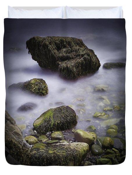 Sea Rocks Duvet Cover