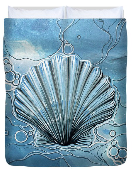 Sea Scalop Duvet Cover