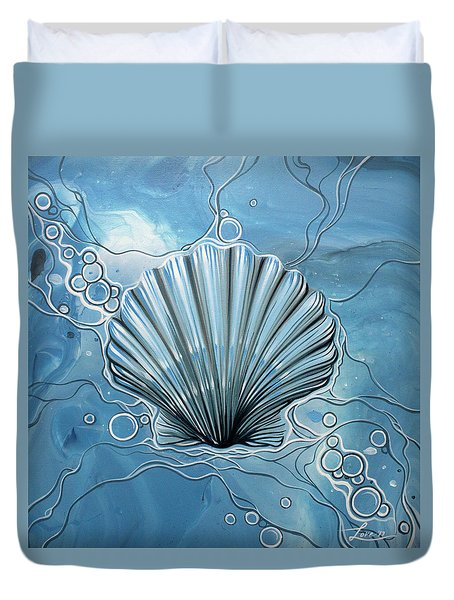 Sea Scalop Duvet Cover
