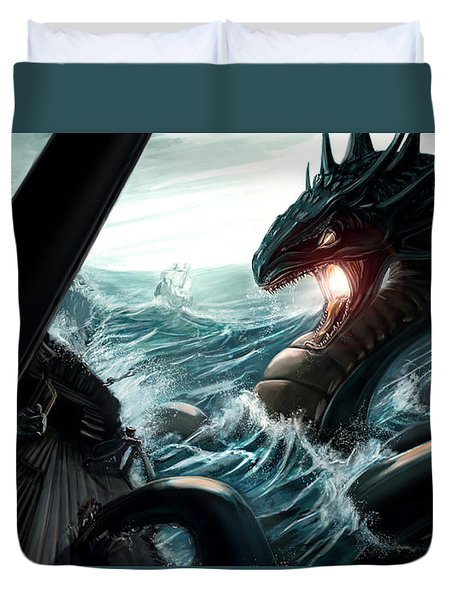 Sea Serpent Duvet Cover