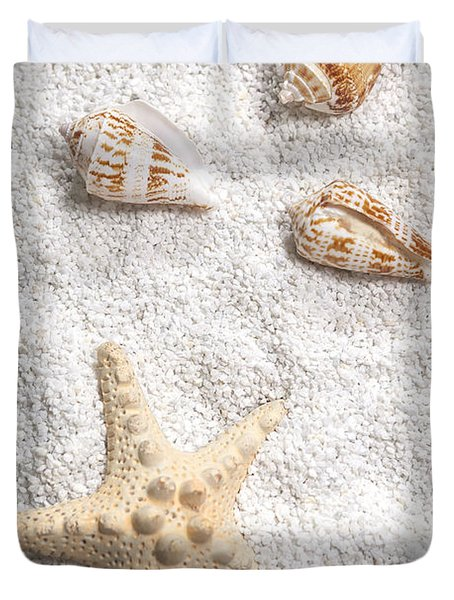 Sea Shells Duvet Cover