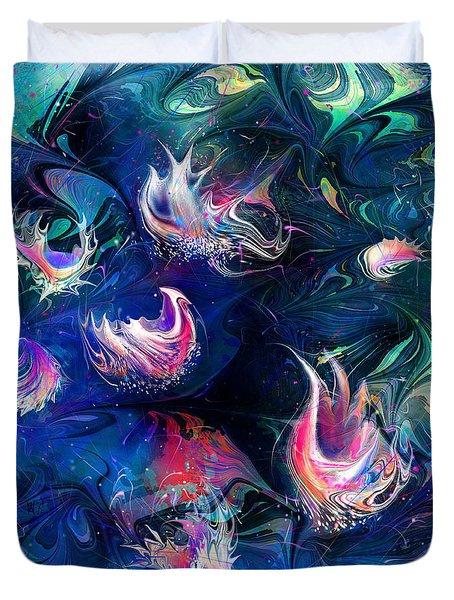 Sea Shells Duvet Cover by Rachel Christine Nowicki