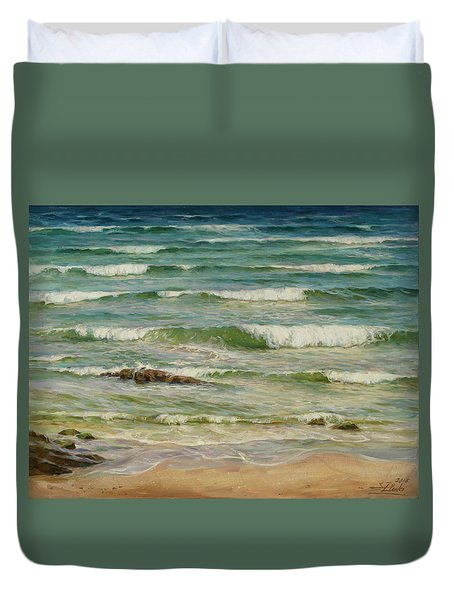 Sea Symphony. Part 1. Duvet Cover