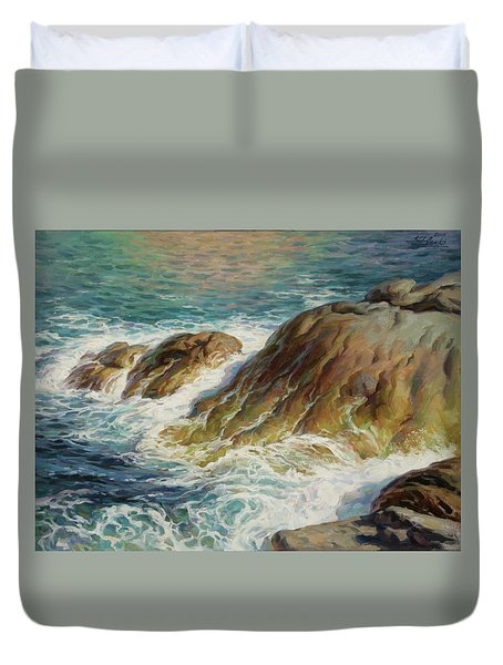 Sea Symphony. Part 2. Duvet Cover