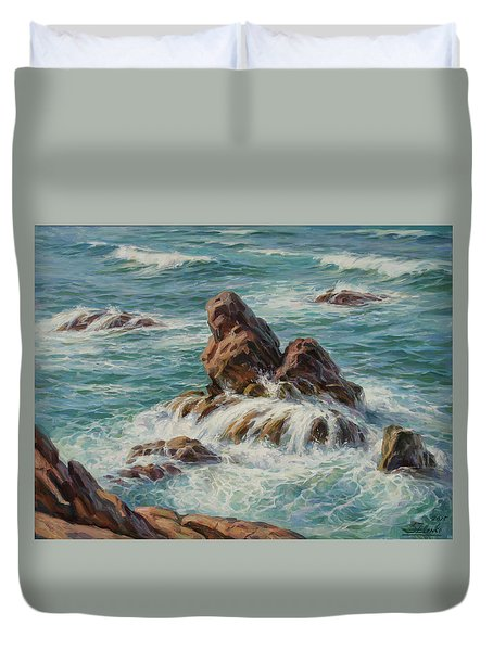 Sea Symphony. Part 3. Duvet Cover