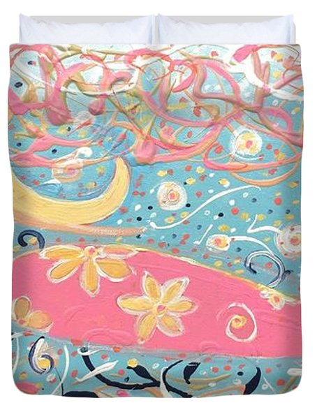 Sea Siren Blondie Duvet Cover