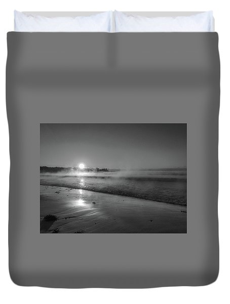 Sea Smoke Duvet Cover