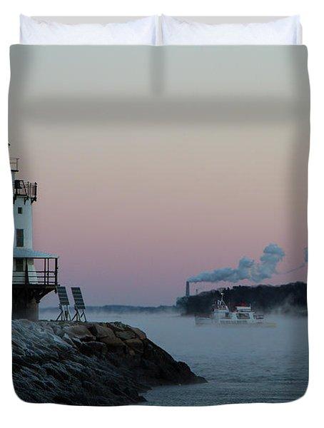 Sea Smoke Duvet Cover