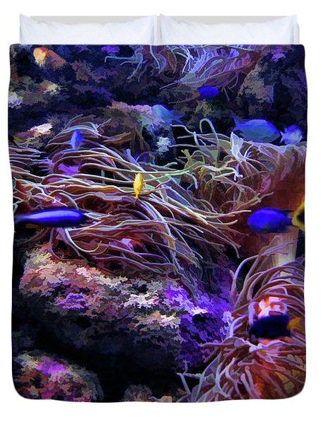 Sea Spaghetti  Duvet Cover by Douglas Barnard