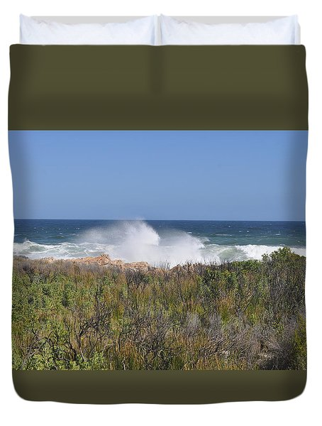 Sea Spray Duvet Cover