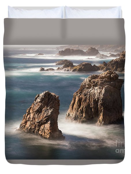 Sea Stacks  Duvet Cover