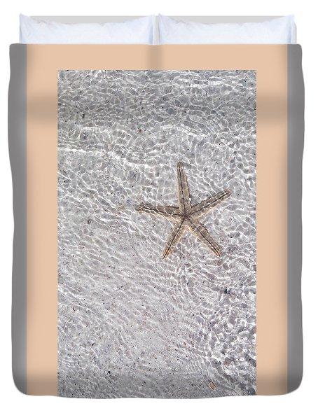 Sea Star 11 Anna Maria Island Duvet Cover by Jean Marie Maggi