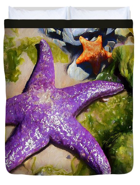 Sea Stars Duvet Cover