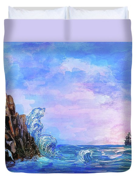 Sea Stories 2  Duvet Cover