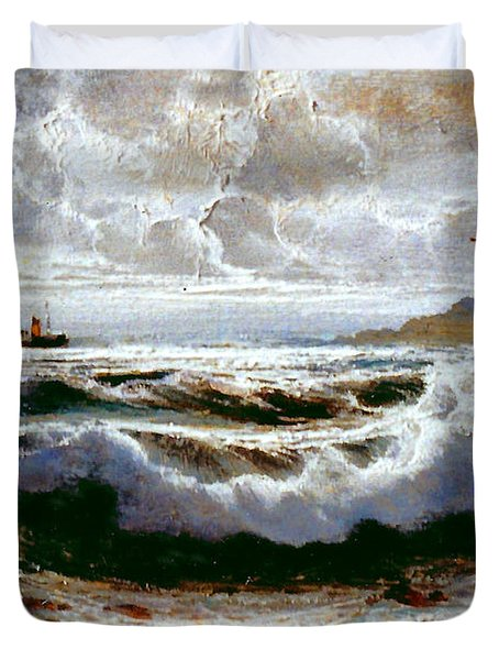 Sea Storm Duvet Cover