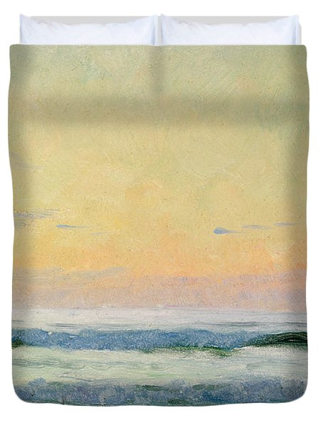 Sea Study Duvet Cover by AS Stokes