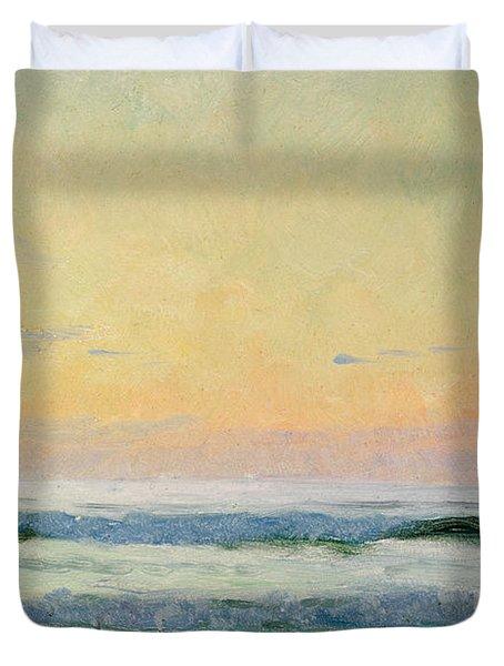 Sea Study Duvet Cover