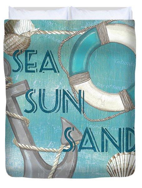 Sea Sun Sand Duvet Cover