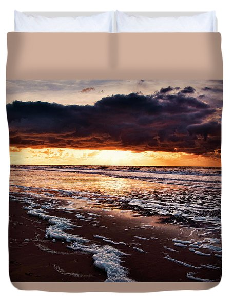 Sea Sunset Duvet Cover