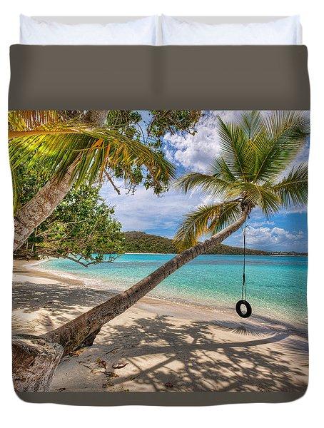Sea Swing Duvet Cover
