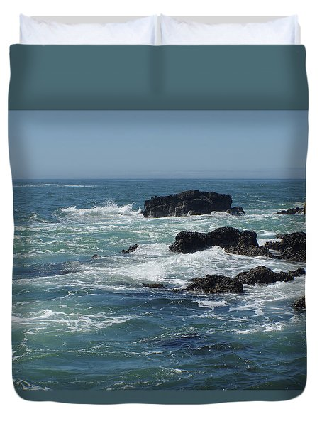Sea Therapy Duvet Cover by Adria Trail
