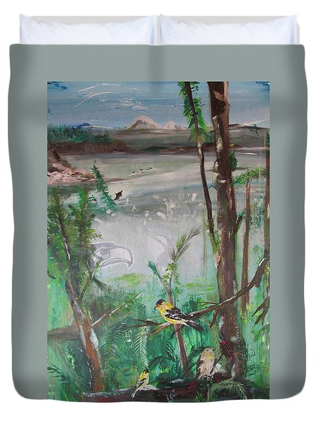 Sea To Sky Duvet Cover